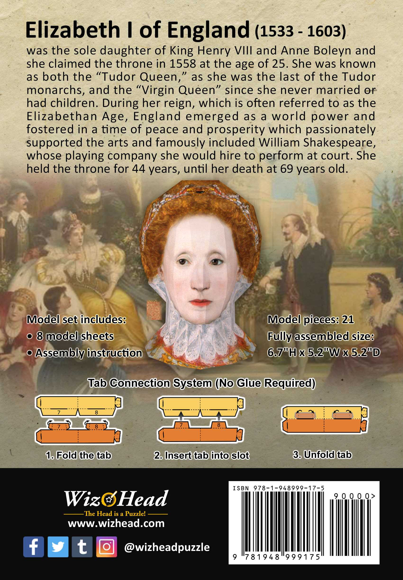Elizabeth I of England (Full Size)