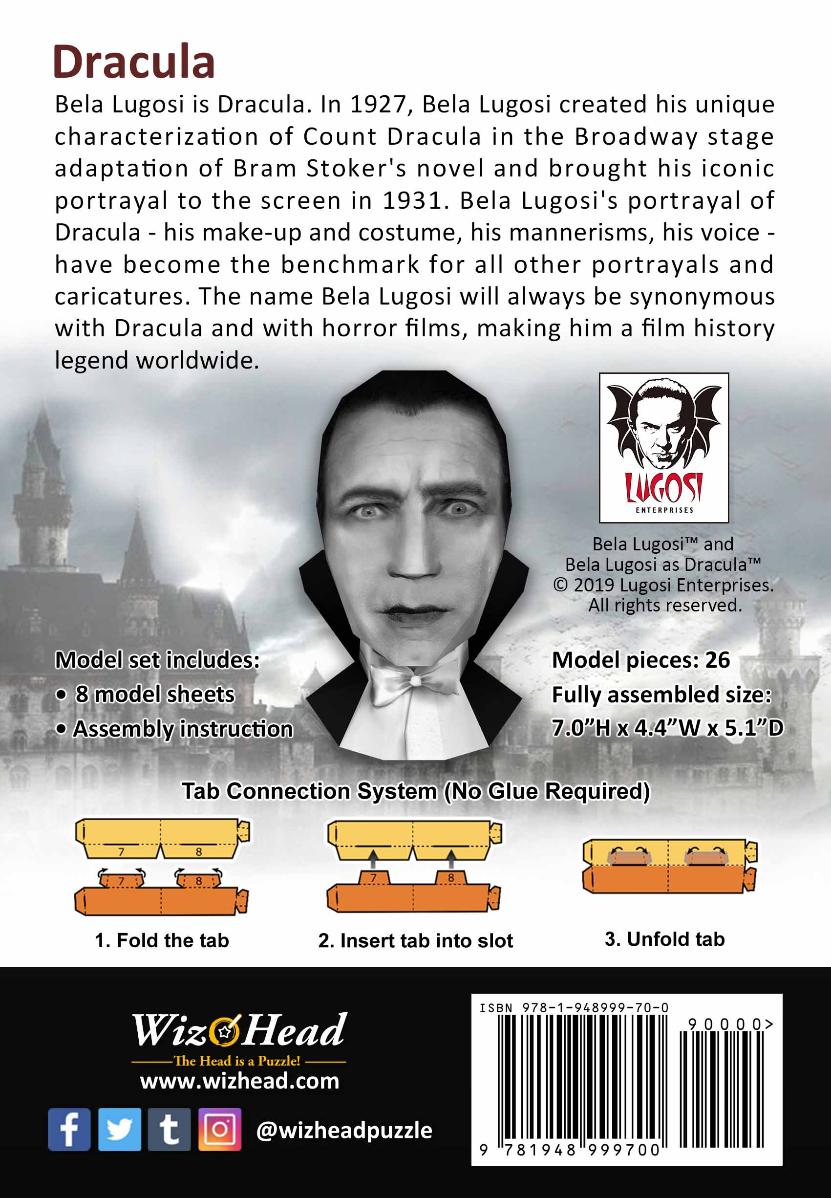 Bela Lugosi as Dracula (Full Size)