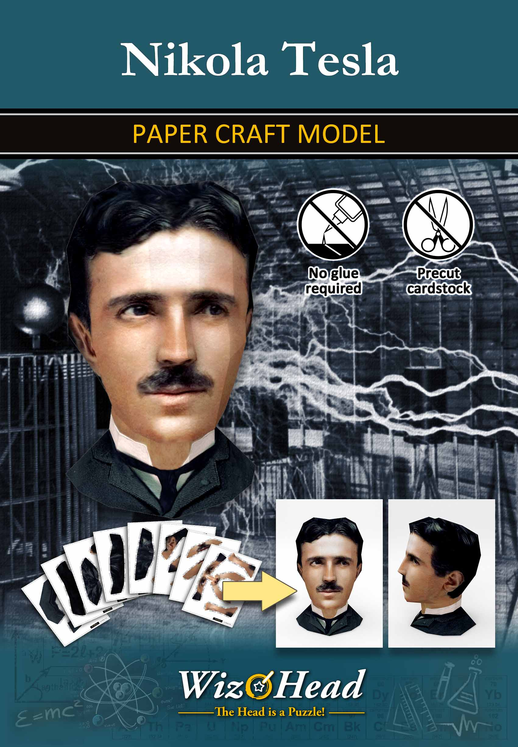 Nikola Tesla (Full Size)