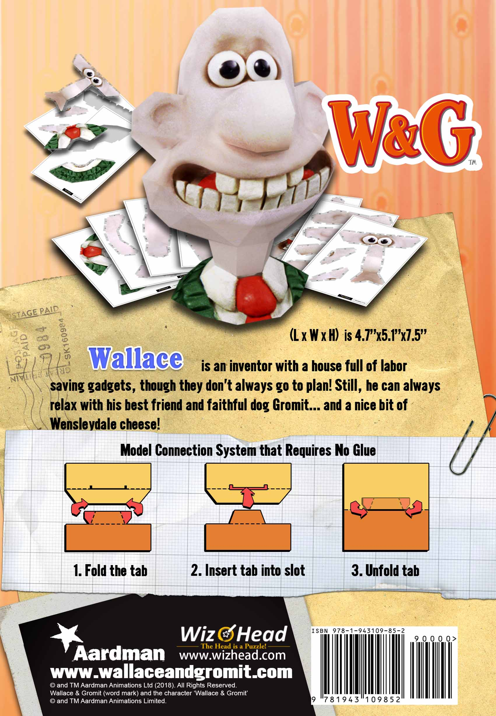 Wallace & Gromit - Wallace