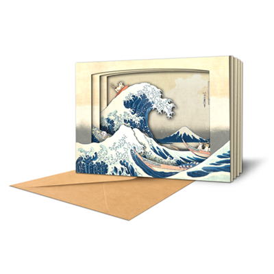 The Great Wave of Kanagawa with Cats