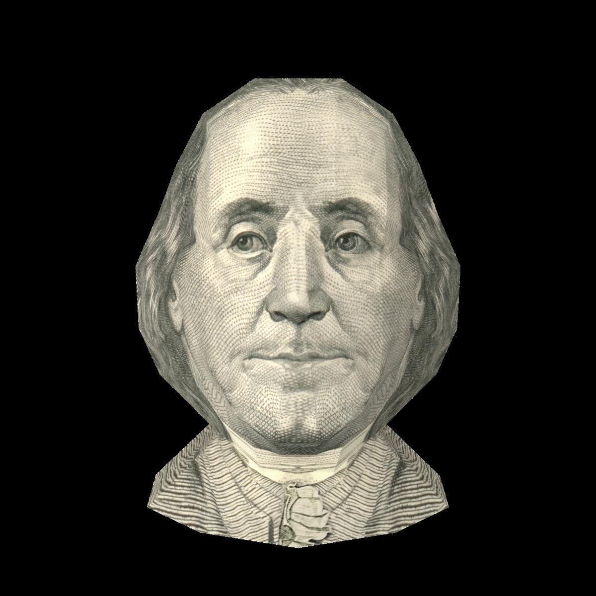 US $100 Bill- Benjamin Franklin
