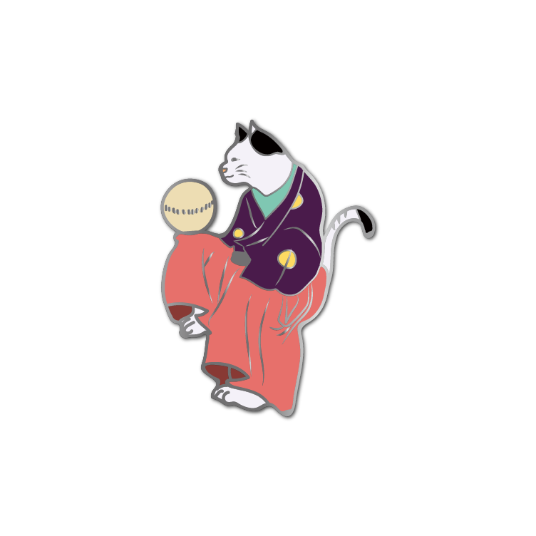 Ukiyo-e Cats #3