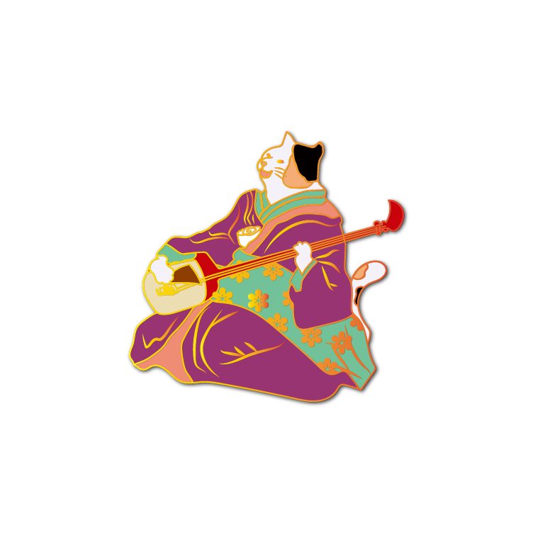 Ukiyo-e Cats #5