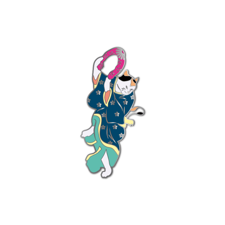Ukiyo-e Cats #6