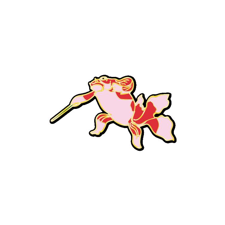 Ukiyo-e Goldfish #1