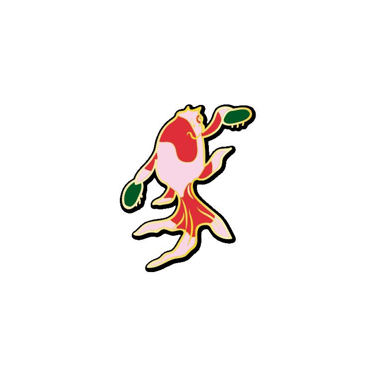 Ukiyo-e Goldfish #4