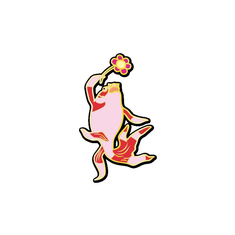 Ukiyo-e Goldfish #6